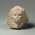 Head of a king as Khepri, possibly Ptolemy VI Philometor MET DP109401.jpg