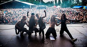 H.E.A.T Live At South Park Festival, Tampere, Finland, June 7, 2014