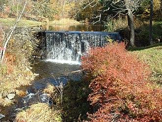 Heath, Massachusetts - Dell Dam in autumn