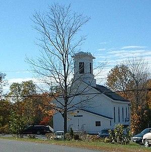 Heath, Massachusetts - Heath Memorial Hall, site of town meetings