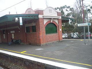 Heidelberg railway station railway station in Heidelberg, Melbourne, Victoria, Australia