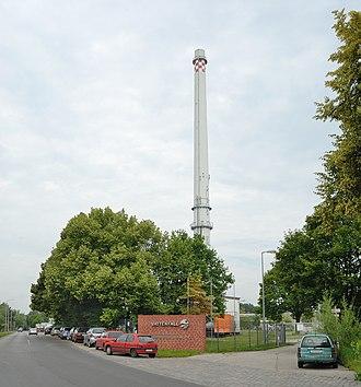 Buch (Berlin) - Image: Heizkraftwerk Berlin Buch (2009)