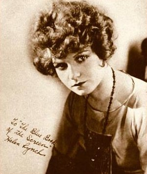 Helen Lynch - Photo of Lynch from The Blue Book of the Screen (1923)
