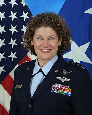 Susan Helms - Lt. Gen. Susan J. Helms, USAF