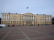 Main building of the University of Helsinki.