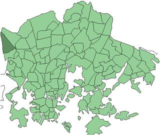 Konala Helsinki Subdivision in Uusimaa, Finland