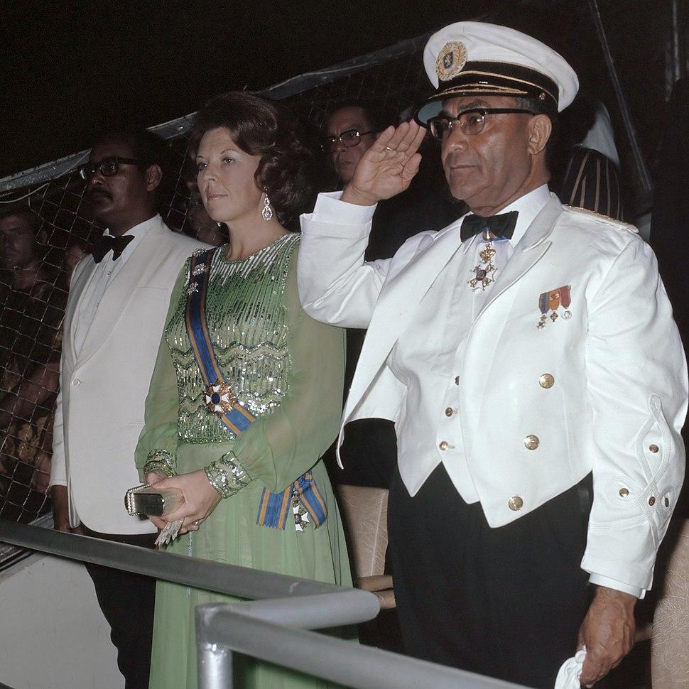 Henck Arron, Beatrix, Johan Ferrier 1975