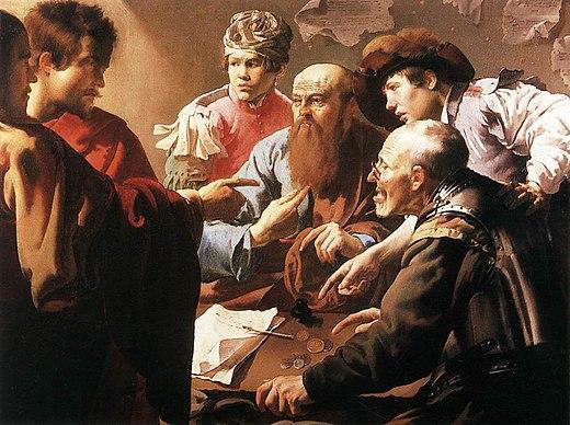21 septembre Saint Matthieu apôtre  520px-Hendrick_ter_Brugghen_-_The_Calling_of_St_Matthew_-_WGA22167
