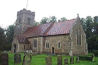 Henley, Suffolk village just north of Ipswich in Suffolk, England