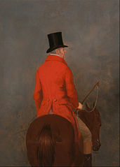 Portrait of Thomas Cholmondeley, first Lord Delamere, on His Hunter (study for \