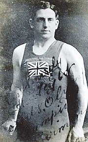 Henry Taylor in British swimming colours