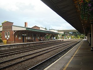 Hereford railway station - Image: Hereford Railway Station