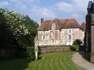 Community of the Beatitudes - The castel of Hermival-les-Vaux (Calvados) owned by the Community of the Beatitudes.