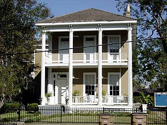 Common Street District - Image: Herpin Smith House 960 Dauphin Street