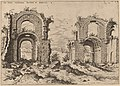 Hieronymus Cock, Second View of the Baths of Diocletian, 1550, NGA 91348.jpg