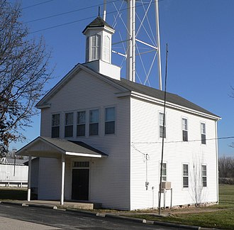 National Register of Historic Places listings in Montgomery County, Missouri - Image: High Hill School (High Hill, MO) 2