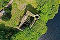 Highlands Invergarry Castle Aerial topview.jpg
