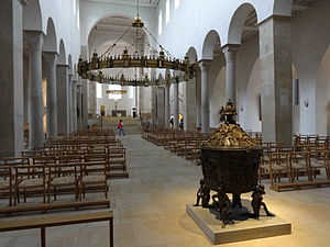 Hildesheim Cathedral - Interior