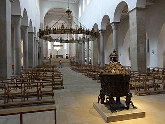 Hildesheim Cathedral - Interior