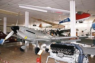 Hispano Aviación HA-1112 - HA-1109 K. 1. L Tripala