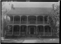 Historic American Buildings Survey Branan Sanders, Photographer March 1934 FRONT VIEW (NORTH) - Harper House, Wrightsboro Road, Augusta, Richmond County, GA HABS GA,123-AUG.V,1-1.tif