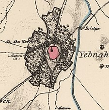 Historical map series for the area of Yibna (1870s).jpg