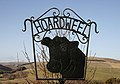 Hoardweel Farm sign - geograph.org.uk - 1762760.jpg