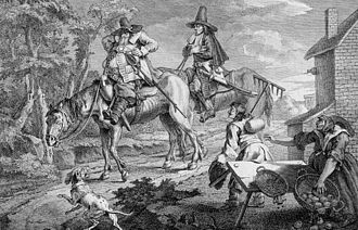 Hudibras - Hudibras Sallies Forth by William Hogarth