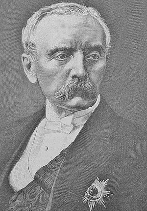 Chlodwig, Prince of Hohenlohe-Schillingsfürst - Portrait of Prince Chlodwig published in 1894