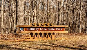Holliday Lake State Park - Image: Holliday Lake State Park 3834