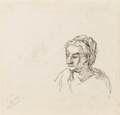Honoré Daumier TÊTE DE FEMME.PNG