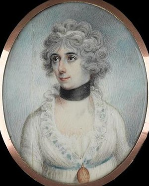 Horatia Nelson - Portrait erroneously attributed as Horatia Nelson