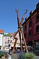Horb am Neckar, Skulptur Neckarstraße-Mühlgäßle.jpg