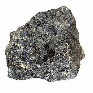 Hornblendite - Hornblendite from Poland