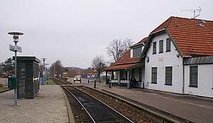 Hornbæk Line - Hornbæk station