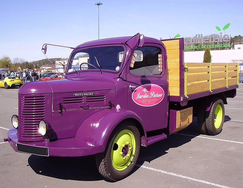 Hotchkiss PL20 violet