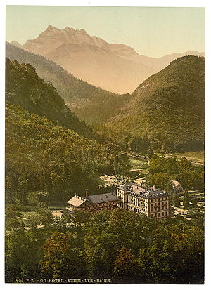 Aigle - Hotel Aigle between 1890 and 1900
