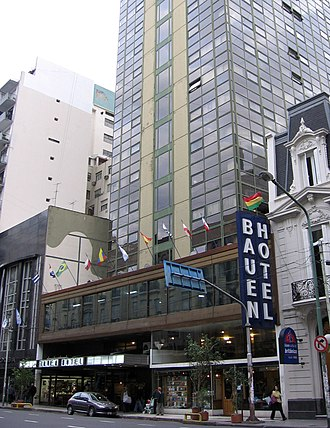Workers' self-management - The Hotel Bauen in Buenos Aires, occupied and self-managed since 2003.