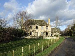 Kelmscott - Image: House near Kelmscott Manor geograph.org.uk 309864