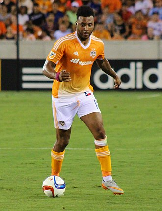Giles Barnes - Barnes playing for Houston Dynamo in 2015