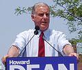 Howard Dean declaration of candidacy June 2003 (cropped).jpg
