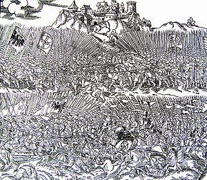 Dobiesław of Oleśnica - Image: Hrunvaldzkaja bitva