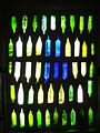 Hundertwasser Toilets, Kawakawa - Bottle Wall 2.jpg