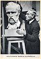 Hungary - Ferenc Sidlo during sculptures - Az Est Hármaskönyve 1938 Unknown photographer.jpg