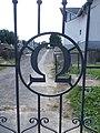 Hunyadi Street Cemetery, gate, omega, 2020 Marcali.jpg