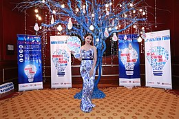 Huong Giang Idol, a famous transgender singer in Vietnam, attends the ceremony and shows her support for the new innitiative (20643882158).jpg