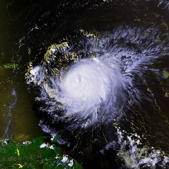 Effects of Hurricane Georges in the Lesser Antilles - Image: Hurricane Georges 20 sept 1998 1847Z