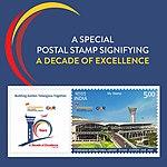 Hyderabad International Airport 2018 stampsheet of India.jpg