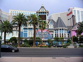 Casino Royale Hotel & Casino - Front façade of casino c. 2007