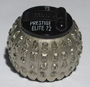 IBM Selectric typeball